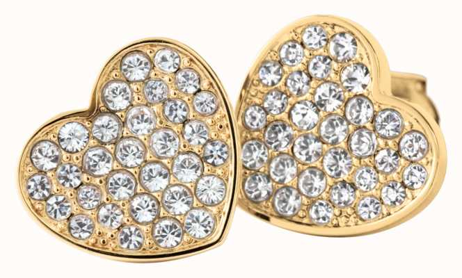 Tommy Hilfiger Womens Gold Plated Stud Earrings 2700655