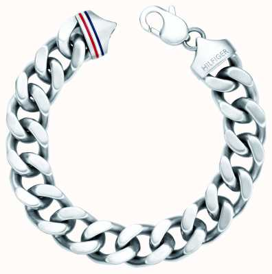 Tommy Hilfiger Mens Stainless Steel Chain Bracelet 2700261