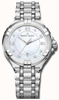Maurice Lacroix Womans Aikon Quartz AI1004-SS002-170-1