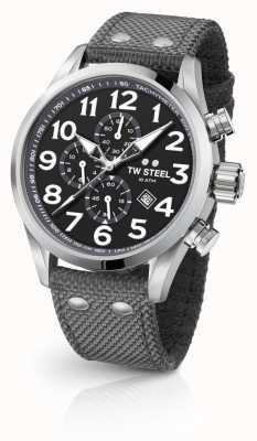 TW Steel Mens Volante Grey 45mm Chronograph VS13
