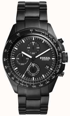 Fossil Mens Sport 54 Chronograph Black CH3028
