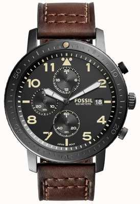 Fossil Mens The Major Chronograph Black CH3086