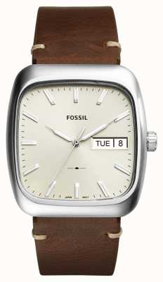 Fossil Mens Rutherford Brown Leather FS5329