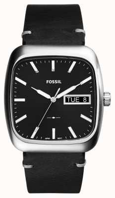 Fossil Mens Rutherford Black Leather FS5330