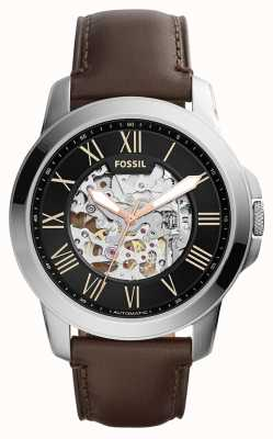 Fossil Mens Grant Brown Leather ME3100