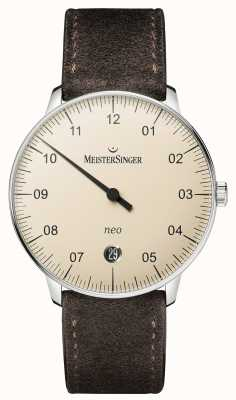 MeisterSinger Men's Form And Style Neo Automatic Ivory NE903N