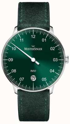 MeisterSinger Mens Form And Style Neo Automatic Sunburst Green NE909N