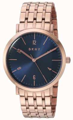 DKNY Womans Minetta PVD Rose Gold Plated NY2611