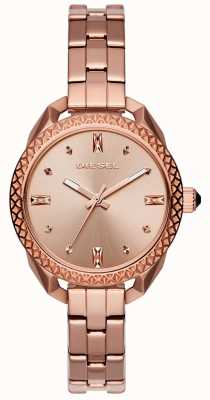 Diesel Ladies Shawty Rose Gold Bracelet Watch DZ5549