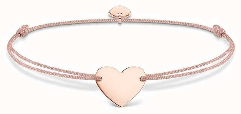 Thomas Sabo Sterling Silver Glam And Soul Little Secrets Rose Gold Heart LS005-597-19-L20V