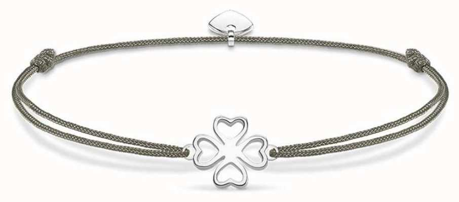 Thomas Sabo Sterling Silver Glam And Soul Little Secrets Clover Leaf LS017-173-5-L20V