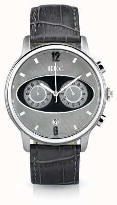 REC Mark 1 M2 Chronograph Grey Leather Strap M2