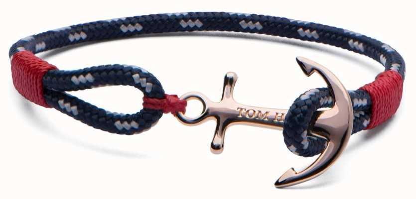Tom Hope Solid Brass Anchor Pacific Bracelet Pacific Small TM0081