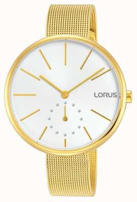 Lorus Womans Elegance Gold Mesh Bracelet RN422AX9