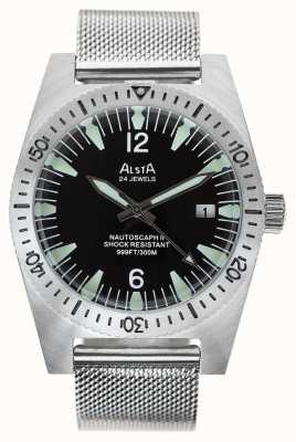 Alsta Nautoscaph II Limited Edition Mens Automatic Stainless Steel NAUTOSCAPH II