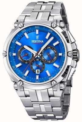 Festina Chronobike Sporting Spirit Blue Dial Chronograph F20327/2