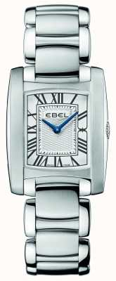 EBEL Womens Brasilia Stainless Steel 1216033