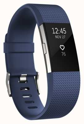 Fitbit Charge 2 - Blue, Small FB407SBUS-EU