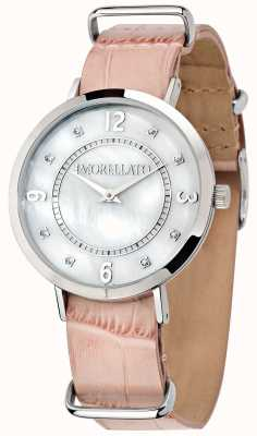 Morellato Womens Versilia Pink Leather Watch R0151133508