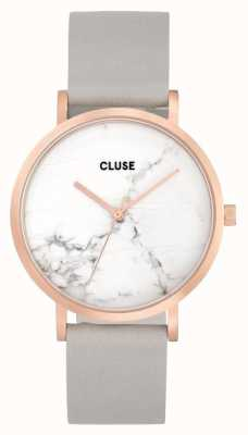 CLUSE La Roche Rose Gold Case Marble Dial/grey Strap CL40103