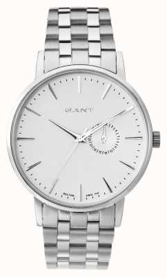 GANT Mens Park Hill II Stainless Steel White Dial W10845