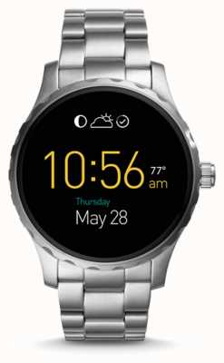 Fossil Mens Gen 2 Q Marshal Smartwatch stainless steel watch FTW2109