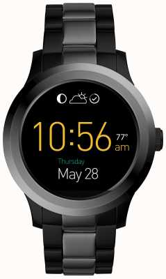 Fossil Mens Q Founder 2.0 Smartwatch Stainless Steel FTW2117