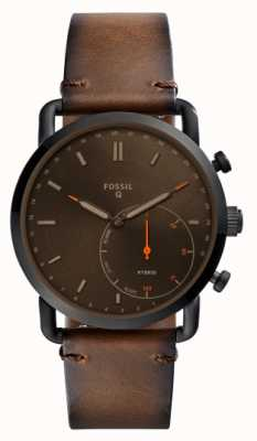 Fossil Mens Q Commuter Casual Leather FTW1149