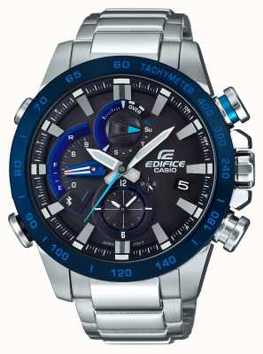 Casio Edifice Bluetooth Solar Powered Racing Chronograph EQB-800DB-1AER