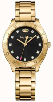 Juicy Couture Womans Sierra Watch Gold Tone 1901621