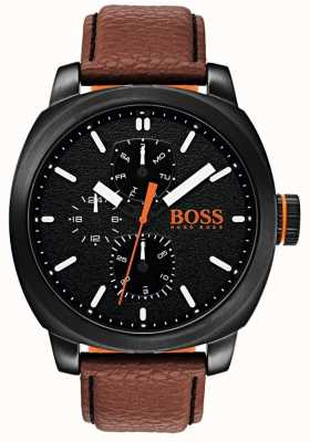Hugo Boss Orange Mens Capetown Watch Black Dial 1550028