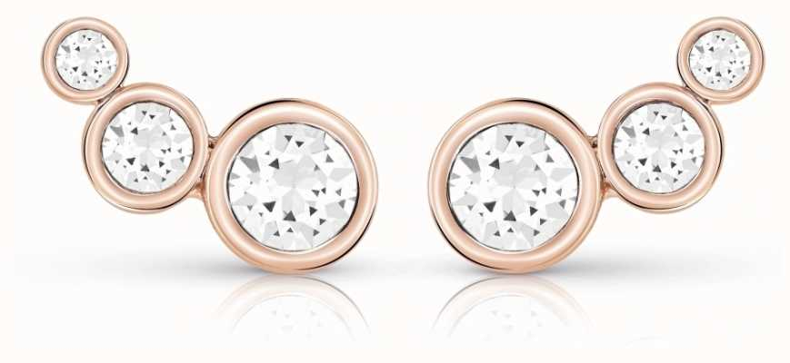 Guess Crystal Beauty Studs Rose Gold UBE84126