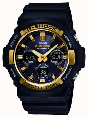 Casio Mens G-Shock Waveceptor Alarm Chrono GAW-100G-1AER