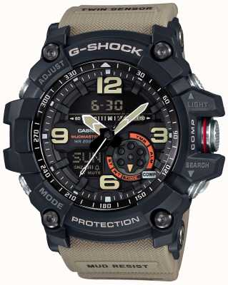 Casio Mens G-Shock Mudmaster Master Of G Brown Strap GG-1000-1A5ER