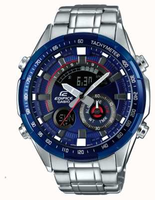 Casio Mens Edifice Racing Blue Series Alarm Chronograph Watch ERA-600RR-2AVUEF
