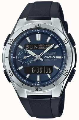 Casio Mens Waveceptor Solar Powered Alarm Chronograph WVA-M650-2AER