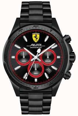 Scuderia Ferrari Pilota Black 0830390