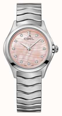 EBEL Womens Wave Pink Dial Watch 1216268