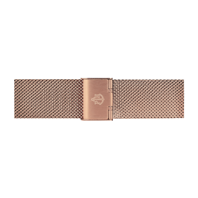Paul Hewitt Rose Gold Stainless Steel Mesh Bracelet 186mm PH-M1-R-4M