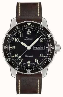 Sinn 104 St Sa A Classic Pilot Watch Dark Brown Vintage Leather 104.011