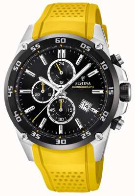 Festina Mens Originals Tour Of Britain 2017 Yellow F20330/3