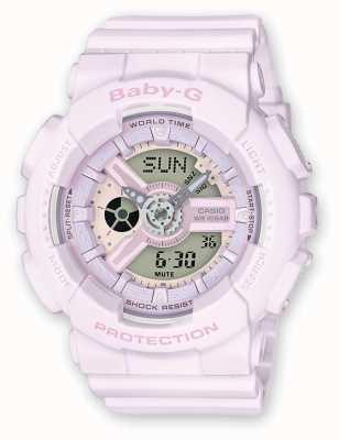 Casio Baby-G Light Pink Rubber Watch BA-110-4A2ER