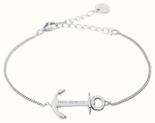 Paul Hewitt Anchor Spirit Silver Bracelet PH-AB-S