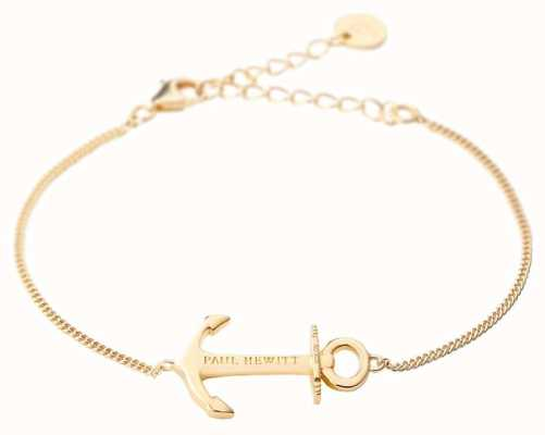 Paul Hewitt Anchor Spirit Gold Bracelet PH-AB-G