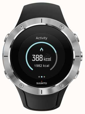 Suunto Unisex Spartan Trainer Wrist HR Steel Sport Watch SS023425000