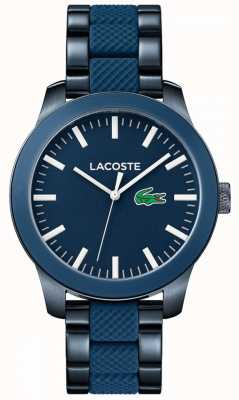 Lacoste Mens Lac Navy Blue Steel Watch 2010922