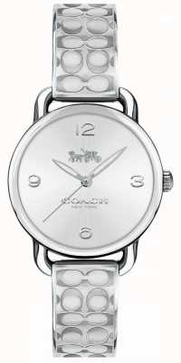 Coach Womans Delancey Watch Silver 14502891