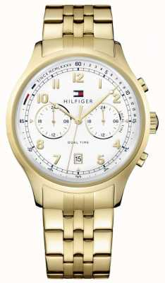 Tommy Hilfiger Woman's Emerson Gold Chronograph Date Display 1791390