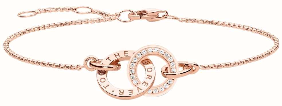 Thomas Sabo Glam And Soul Rose Gold Together Bracelet A1551-416-40-L19,5V