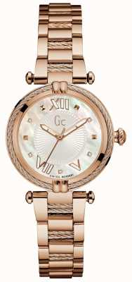 Gc Womans Cablechic Precious Analogue Rose Gold Y18114L1